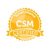 Badge Scrum Alliance CSM Certified