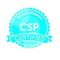 Badge Scrum Alliance CSP Certified