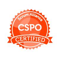 Badge Scrum Alliance CSPO Certified
