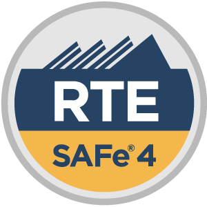 SAFe 4 Release Train Engineer (RTE4) Badge