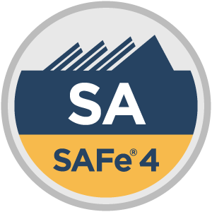 SAFe® 4 SAFe Agilist (SA4) Badge