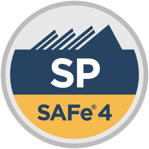 SAFe® 4 SAFe Practitioner (SP4) Badge